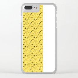 love animal art Clear iPhone Case