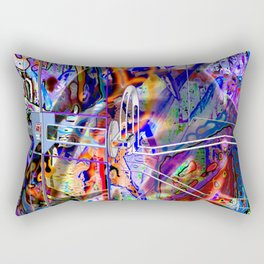 Disrupt All Reductionist Activity In Sector Seven-G! Rectangular Pillow