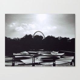 Ferris Wheel Skies Canvas Print