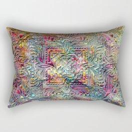 Antique Mandala Rectangular Pillow