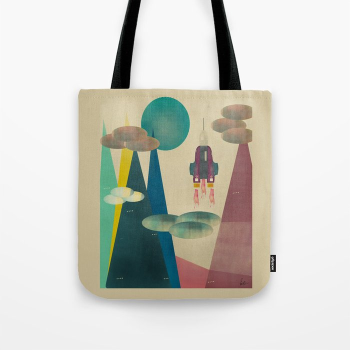 life on mars Tote Bag