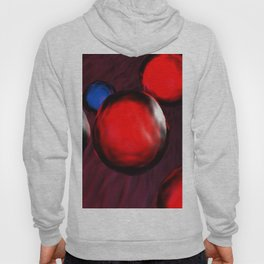 Blue and red cells flowing in the vein - 3D rendering Hoody