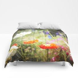 Magic Poppies Comforters