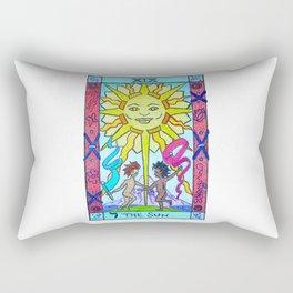 The Sun - Tarot Rectangular Pillow