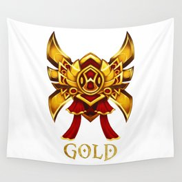 League of Legends Gold Tier Wall Tapestry