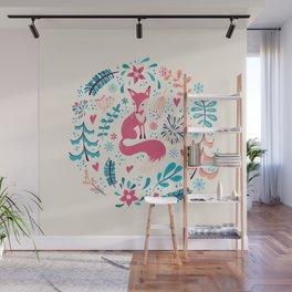 Foxy Wall Mural