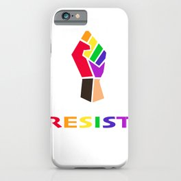 RESIST Equality Fist iPhone Case