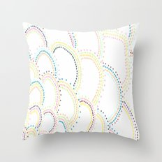 Just Some Dots Throw Pillow