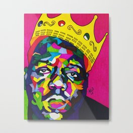 Biggie (Crown) Metal Print