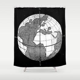 Earth Shower Curtain