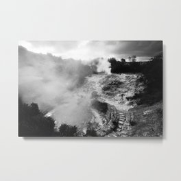 Volcano in Azores Metal Print