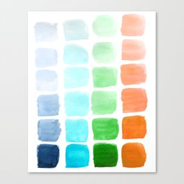 Squared Gradients #2 Canvas Print