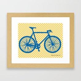 La Bicicletta  Framed Art Print