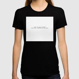 How long is forever? Alice in Wonderland T-shirt