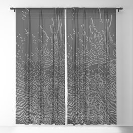 Magnetosis Sheer Curtain