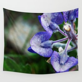 Lupine Petals Photography Print Wall Tapestry