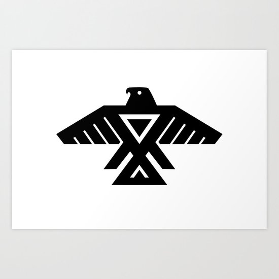 "Thunderbird Symbol Flag ""high quality image"" Art Print by ..."