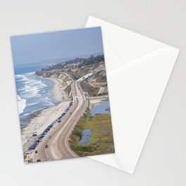 Pacific Coast Highway, California Stationery Cards