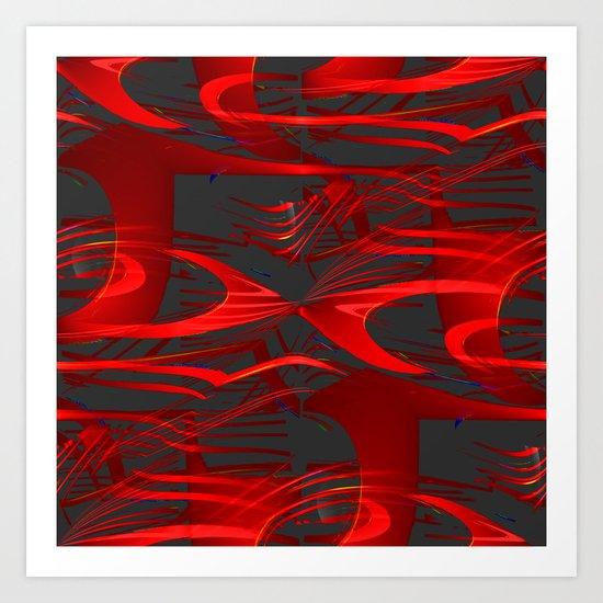 Ribbonology Art Print