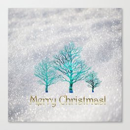The Day of Christmas Canvas Print