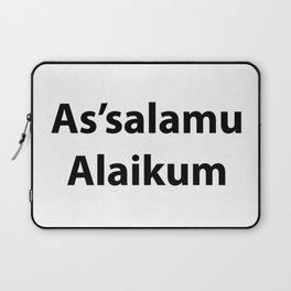As'salamu Alaikum Laptop Sleeve