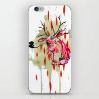 jackalope iPhone & iPod Skins featuring Jackalope by Manfish Inc.