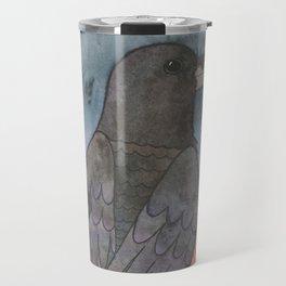 Raven at Sunset Travel Mug