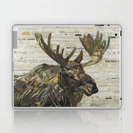 Eastern Moose Collage by C.E White Laptop & iPad Skin