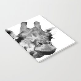 Black and white giraffe Notebook