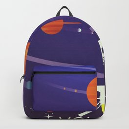Voyager Grand Tour Science poster Backpack
