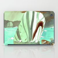 dick iPad Cases featuring Moby Dick by Mary Slumber