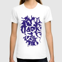 face1 blue T-shirt