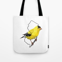 New Jersey – American Goldfinch Tote Bag
