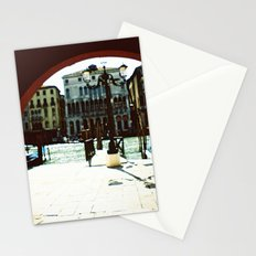 Venice - Archway onto the Grand Canal Stationery Cards