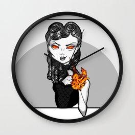 Asada, fashion illustration Wall Clock