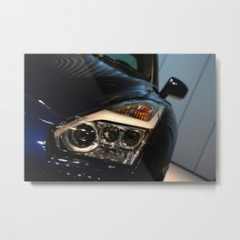 2015 Nissan Skyline R35 Headlights  Metal Print