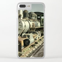 Havana Steamer Clear iPhone Case