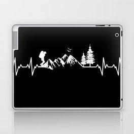 My Heart Beats For Nature Laptop & iPad Skin