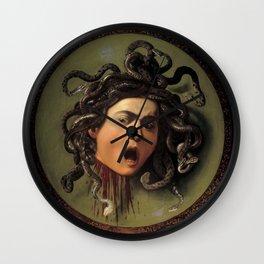 "Michelangelo Merisi da Caravaggio ""Medusa"" Wall Clock"