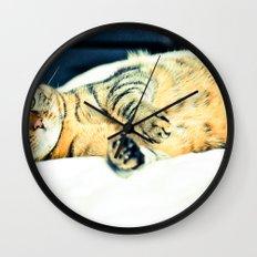 Кошка Wall Clock