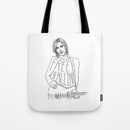 Tom Petty Free Fallin' Tote Bag