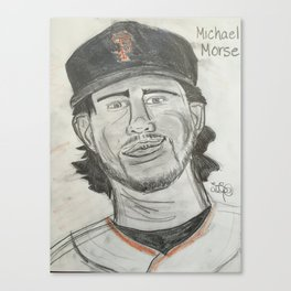 Michael Morse Canvas Print