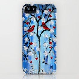 Cardinals, Oh the Joy! iPhone Case