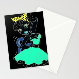 Dancing Doll Stationery Cards