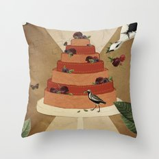 Let Them Eat Cake :: II Throw Pillow