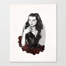 Maila Nurmi (Vampira) Canvas Print