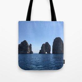 Tunnel of Love, Capri Tote Bag