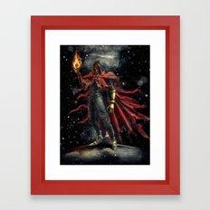 Epic Vincent Valentine Final Fantasy Painting Portrait Framed Art Print