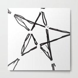 Blank points Metal Print