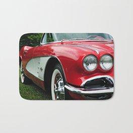 Red Corvette Bath Mat